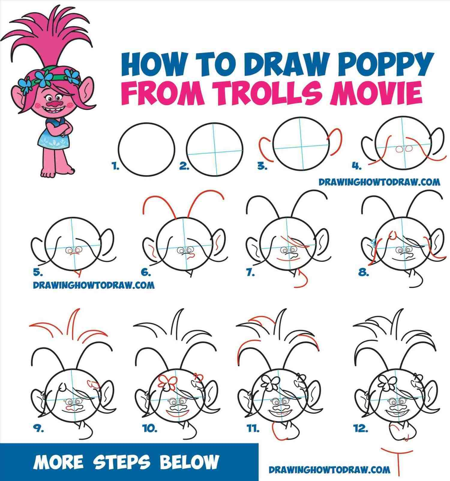 Step By Step Disney Characters Drawing at GetDrawings ...