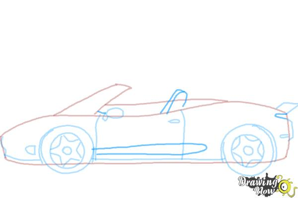 600x400 How To Draw A Car Easy