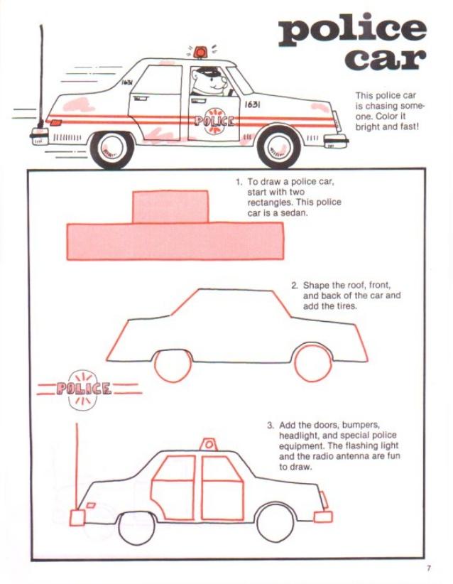 638x822 To Draw Cars Amp Trucks
