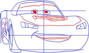 302x182 How To Draw How To Draw Cars Lightning Mcqueen