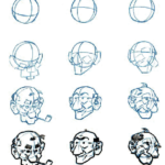 150x150 Cartoon Characters Step By Step How To Draw Cartoon Characters