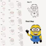 150x150 Drawing Of Cartoon Characters Step By Step Colorfull Vector