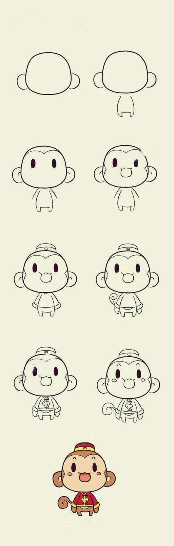 564x1771 Drawings Of Cute Animals Step By Step