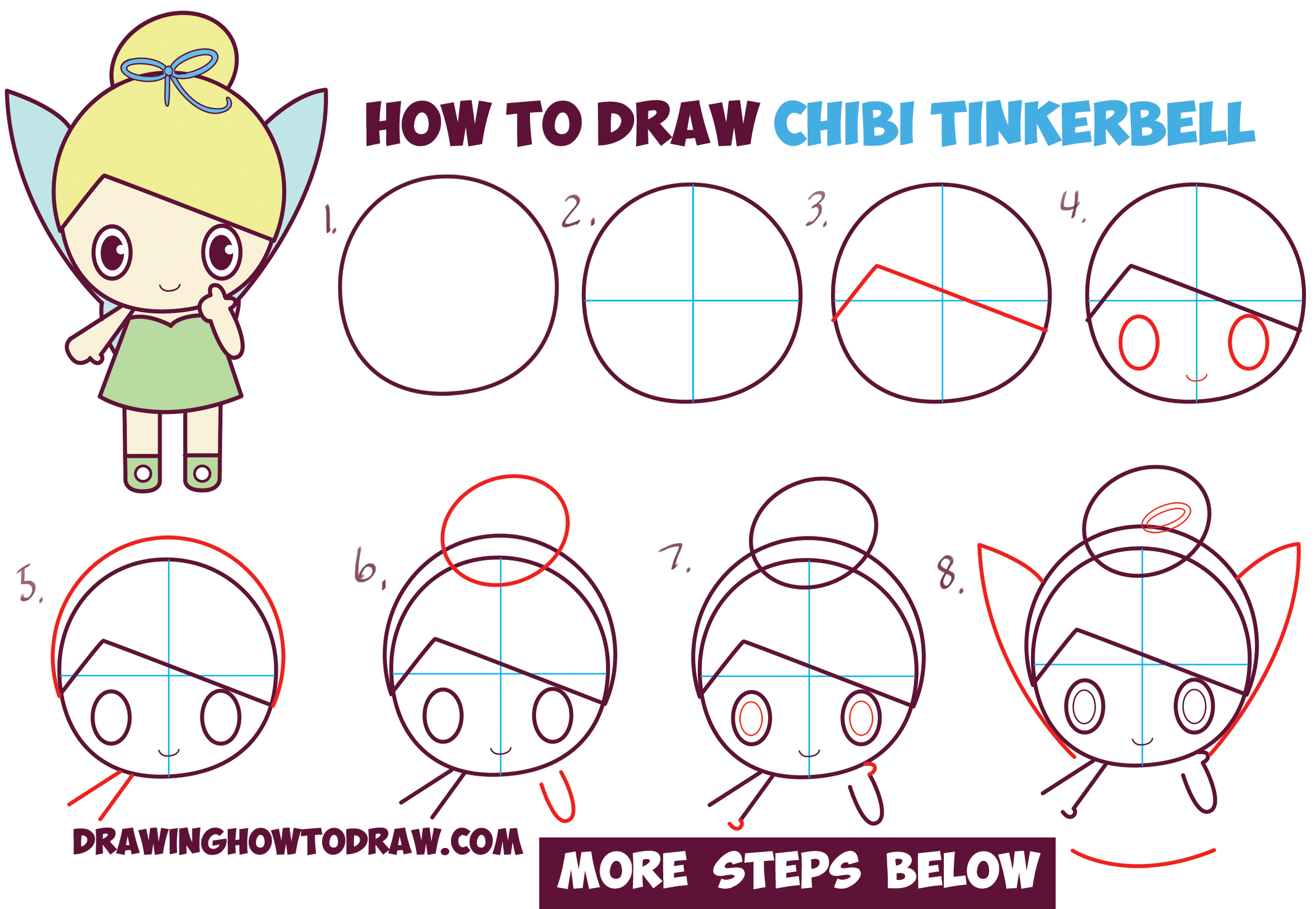 Step By Step Drawing Disney Characters at GetDrawings.com ...