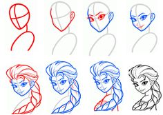 236x167 Draw Disney Characters Step By Step