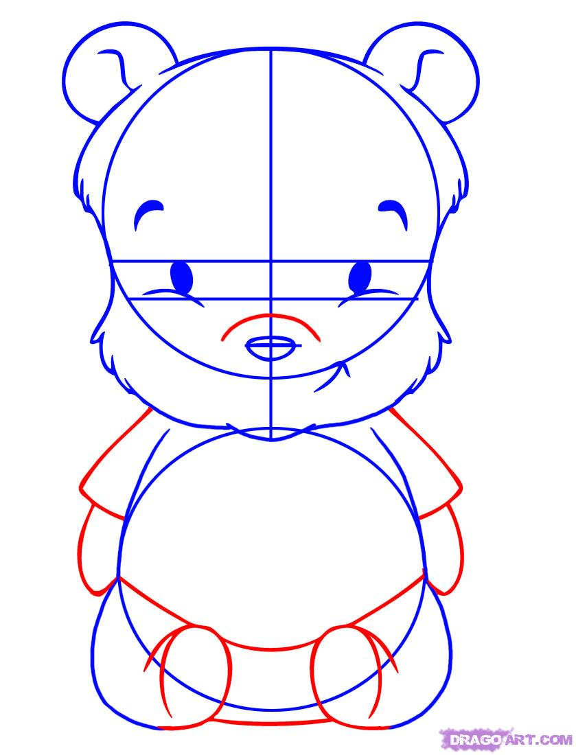 839x1100 How To Draw Baby Winnie The Pooh Step 5 We Need The Pooh