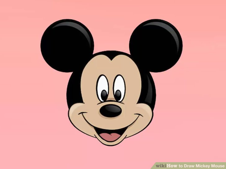 728x546 3 Ways To Draw Mickey Mouse Step By Step