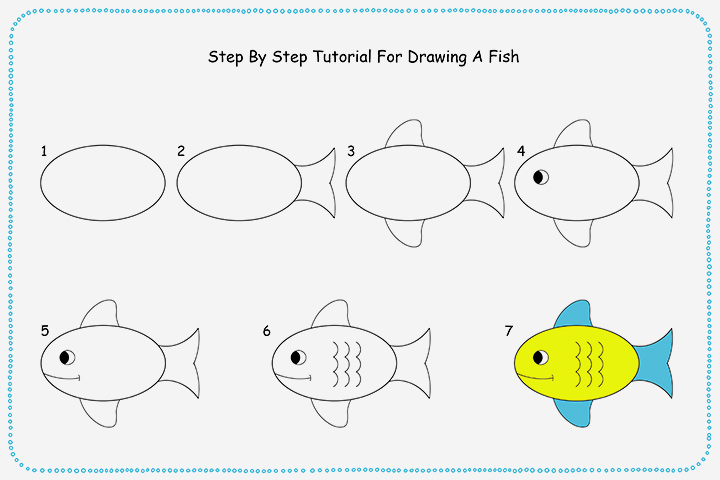 720x480 Photos Step By Step Drawing For Children,
