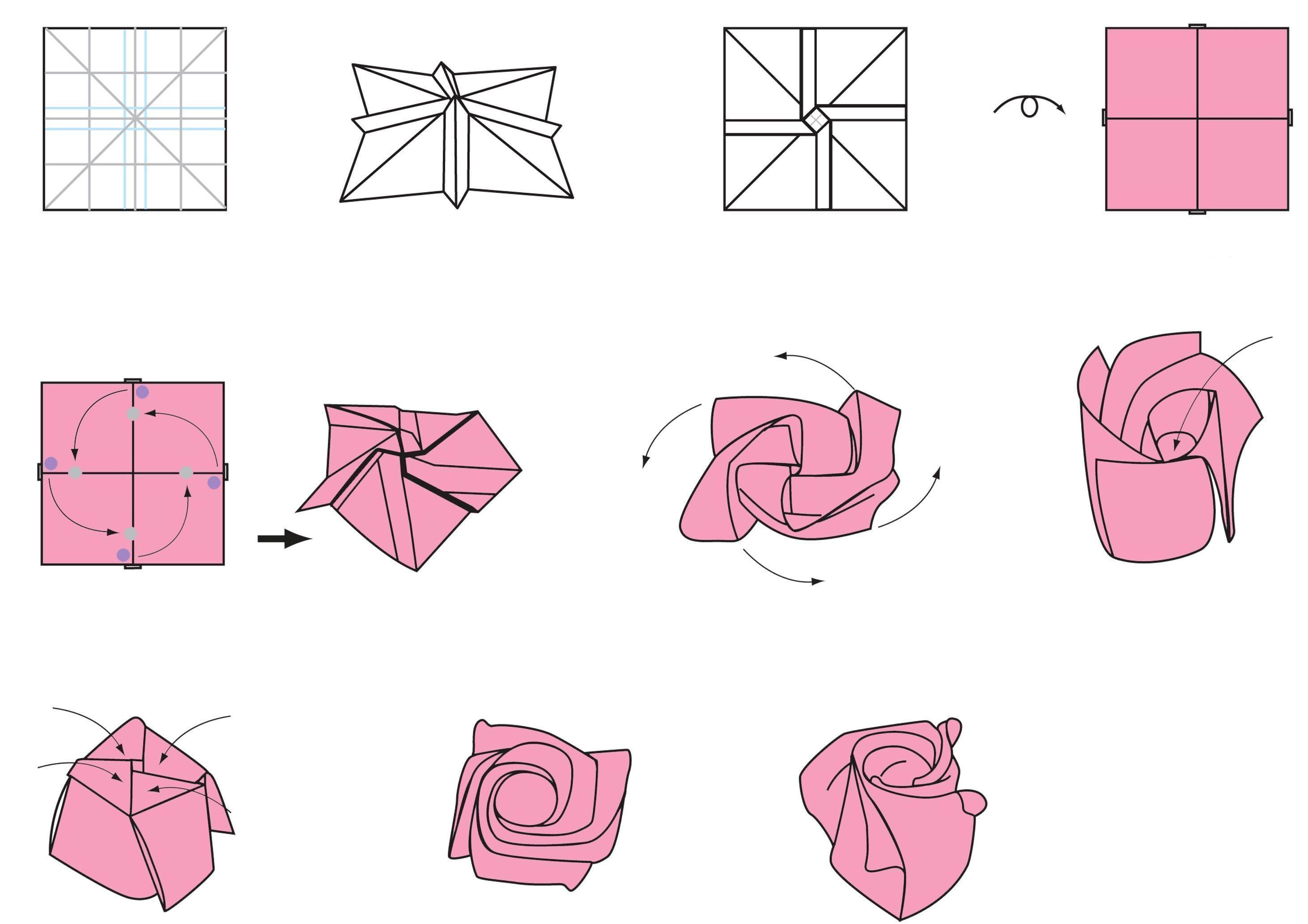 2924x2066 How To Draw A 3d Rose Step By Step