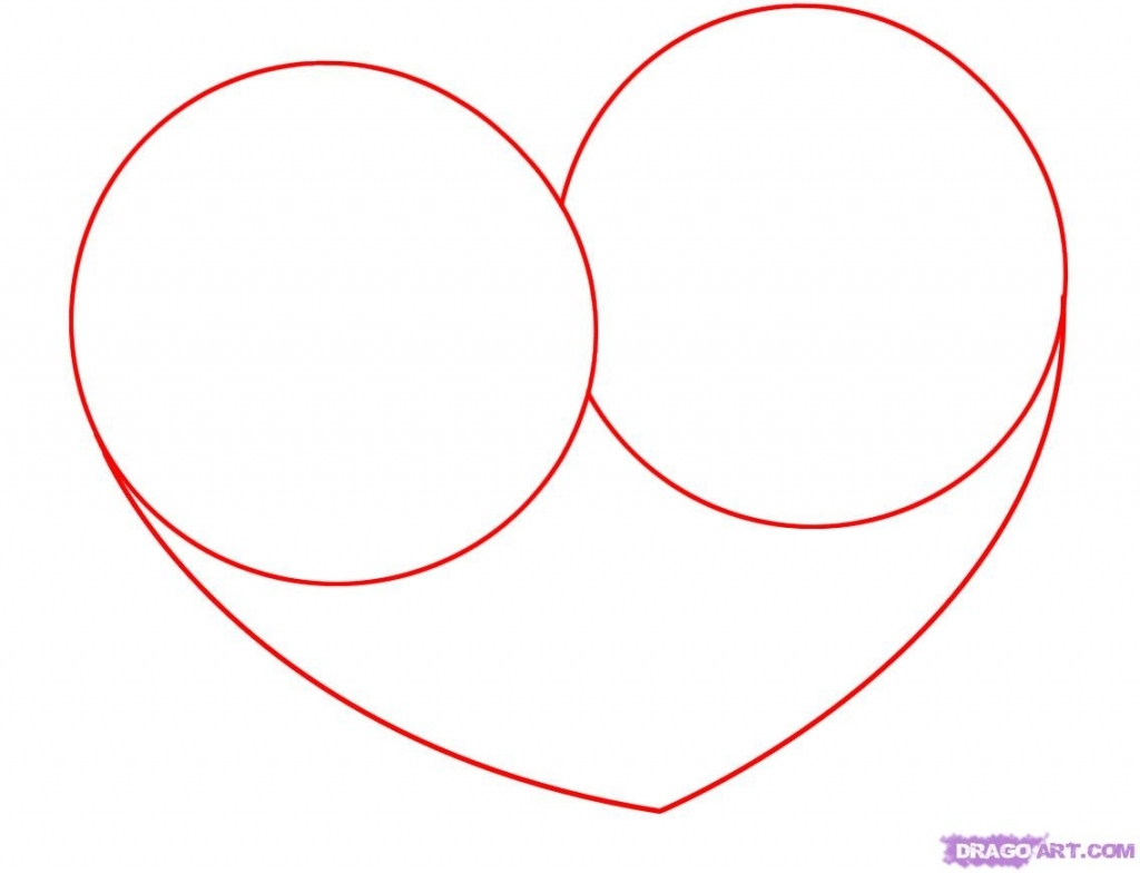 1024x784 Step By Step Rose Drawing Draw A Heart With A Rose Step Step