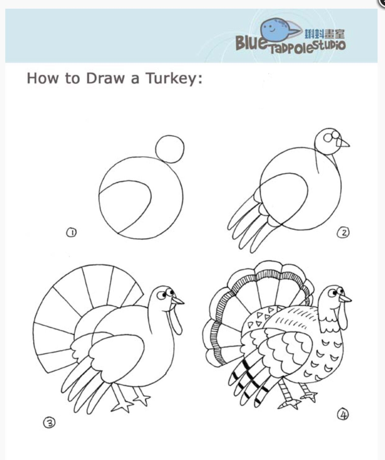 1241x1482 Pin By Linda Linebaugh On Learn To Draw Thanksgiving