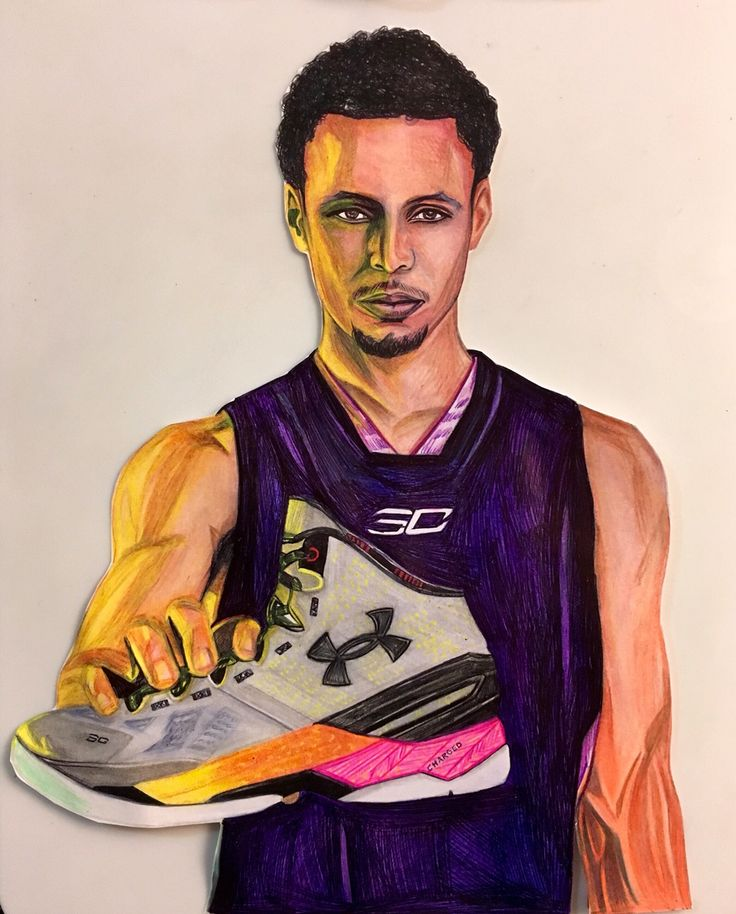 736x914 8 Best Drawings Images On Stephen Curry, Sports Art