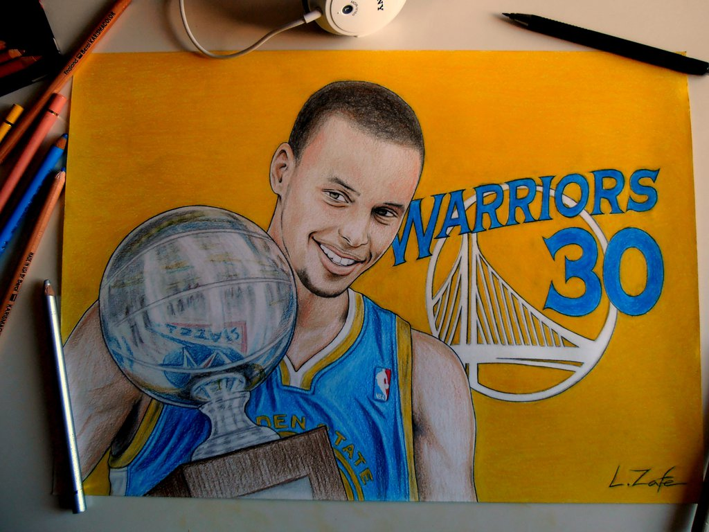 1024x768 Stephen Curry Drawings Art Stephen Curry, Drawings
