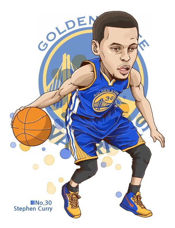600x779 Stephen Curry By Fabjoon Basketball