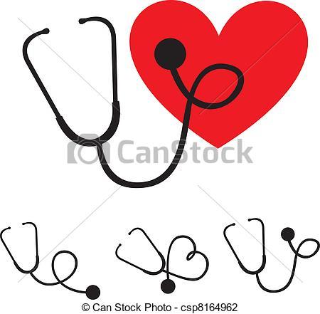 450x441 Stethoscope Silhouette. Black Silhouette Stethoscope