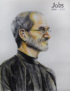 236x306 Steve Jobs Drawing