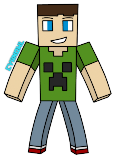 374x512 showing off my minecraft fan art 3