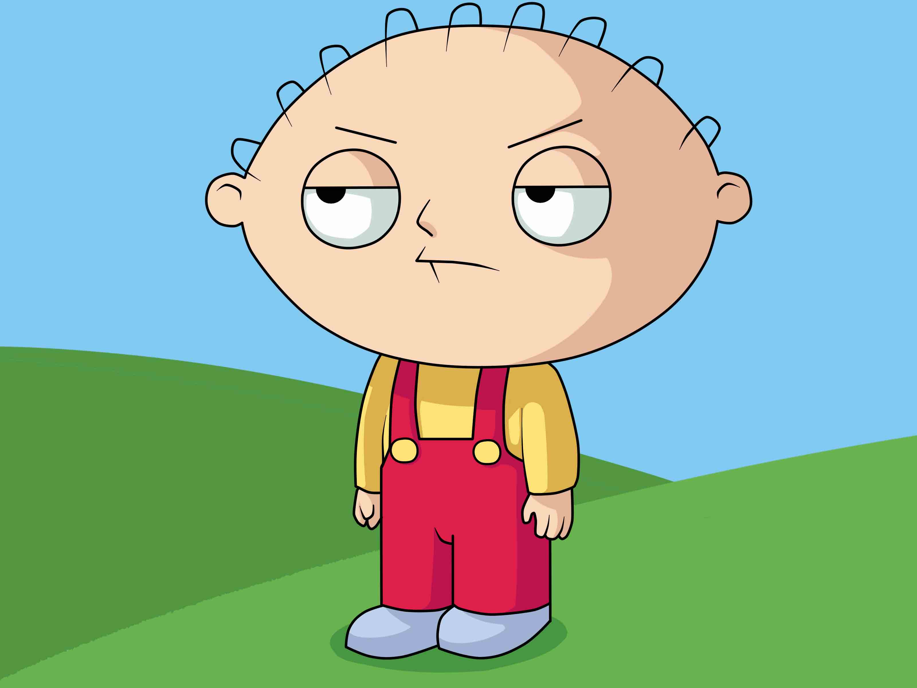 3200x2400 How To Draw Stewie From Family Guy (With Pictures)