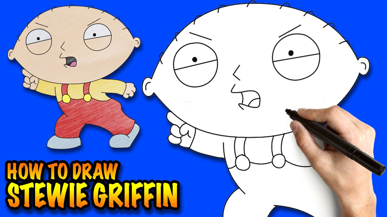 1280x720 How To Draw Stewie Griffin