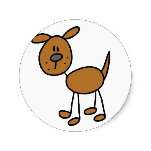 512x512 Dog Stick Figure Sticker Stick Figures, Dog And Doodles