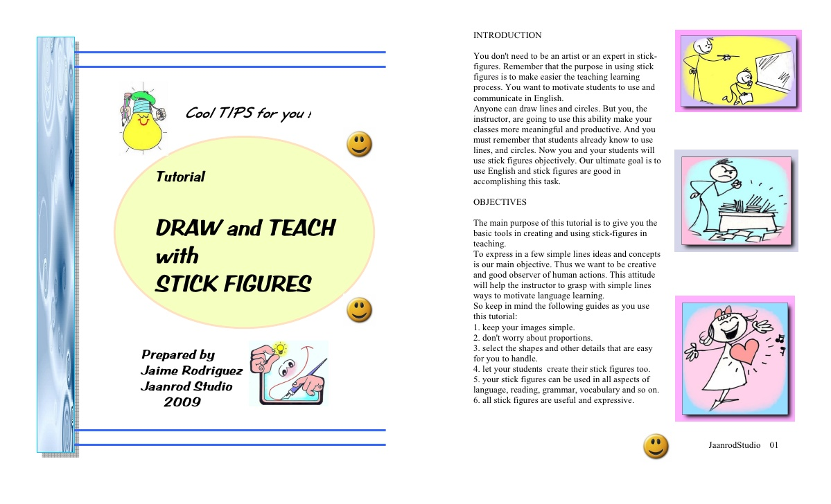 1199x728 Tutorial Draw And Teach With Stick Figures