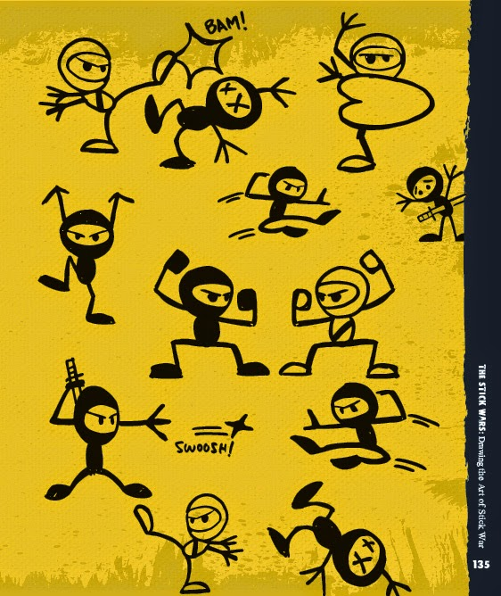 562x668 How To Draw Cute Ninjas From The Book Stick Sketch School By Billy
