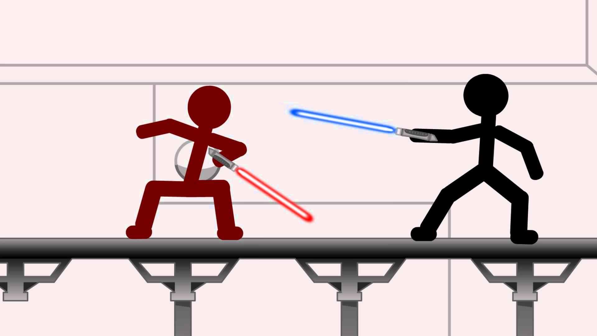 1920x1080 Star Wars Stick Figure Battle!
