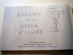 236x177 Tutorial Draw And Teach With Stick Figures By Jaime Rodriguez Via