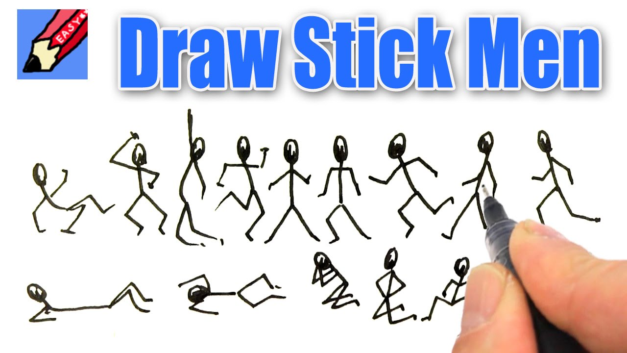 1280x720 How To Draw Stick Men Real Easy
