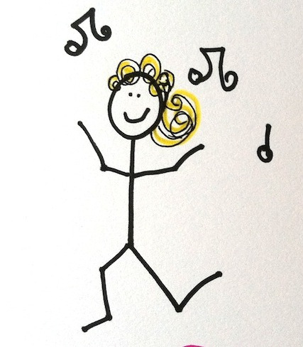 427x488 Stickman Challenge Day 5 Dancing Stickmen