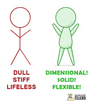 316x360 Stickman Compared To Pudgy For Animation