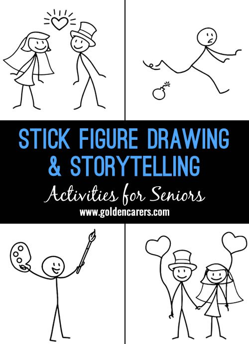 500x689 Stick Figure Drawing Amp Storytelling Interactive Activities