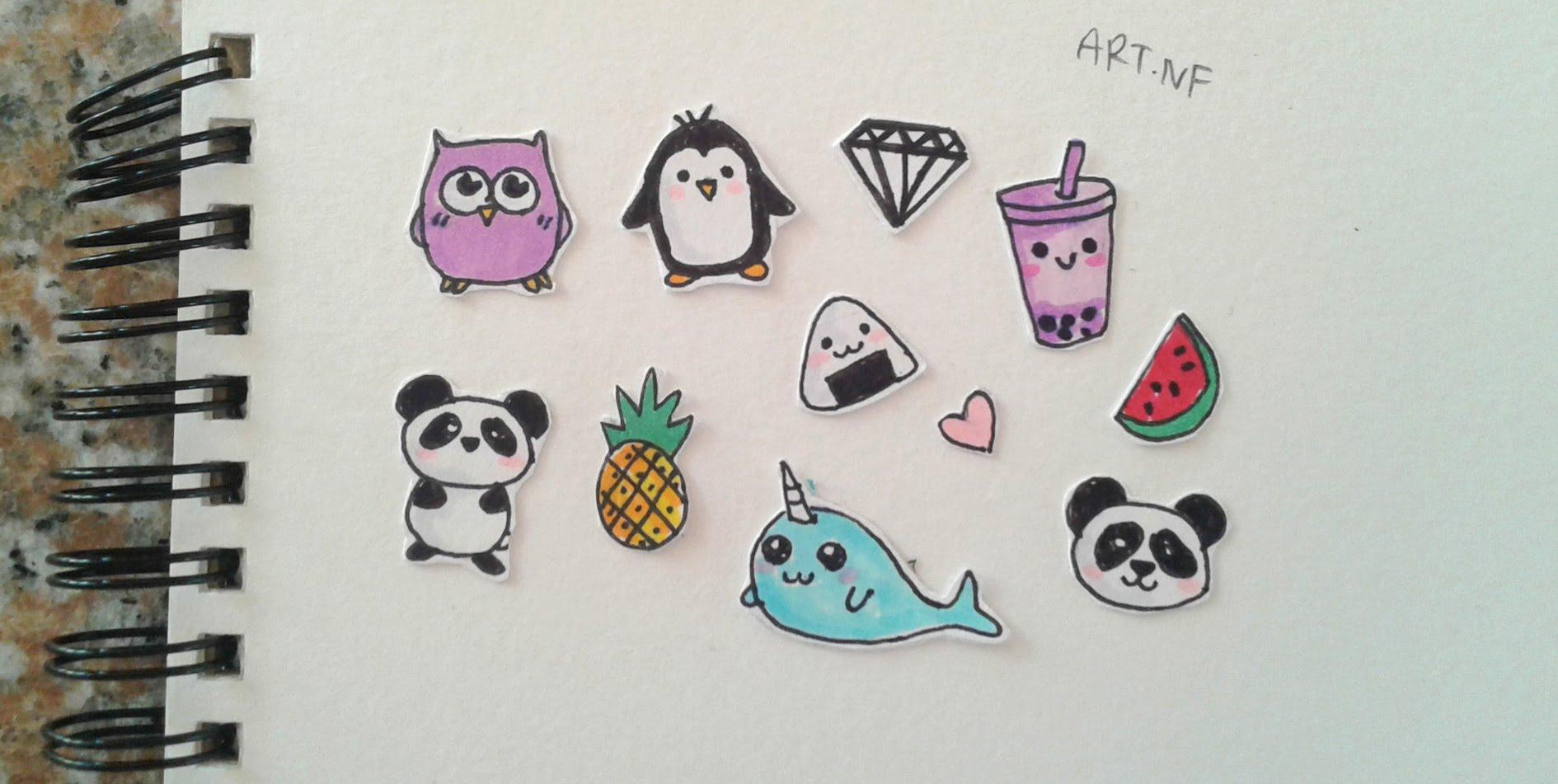 1890x951 Diy Tumblr Stickers (Drawings)