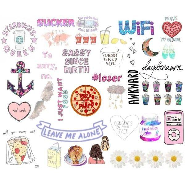 600x600 Collage Stickers Tumblr