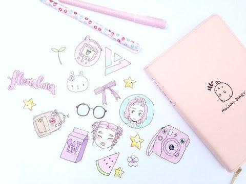 480x360 Drawing Diy Cute Custom Stickers!