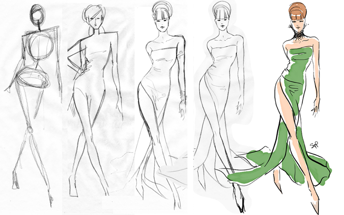 700x439 From Stick Figure To Fashion Illustration!