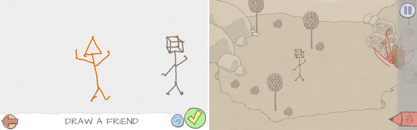 1600x498 Draw a Stickman Adventure, RPG, and puzzle game in one