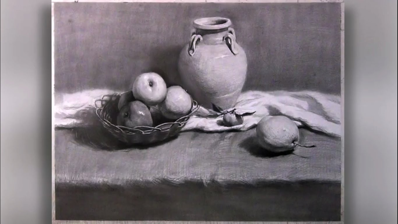 1366x768 How To Draw Still Life With Pencil