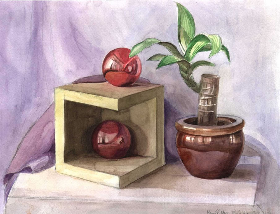 905x690 Mindblowing Still Life Paintings And Drawings