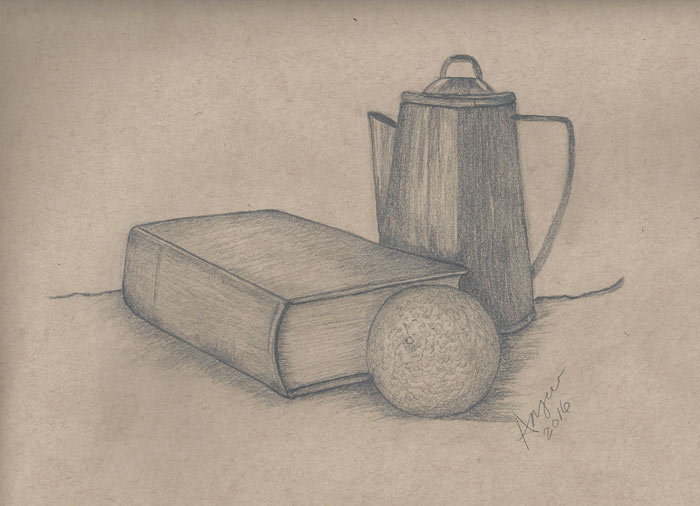700x506 Still Life Drawings By Angie Vazquez