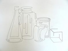 Continuous Contour Line Drawing Definition : Still life contour drawing at getdrawings.com free for personal