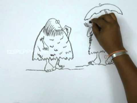 480x360 How To Draw Rainy Day In Stone Age