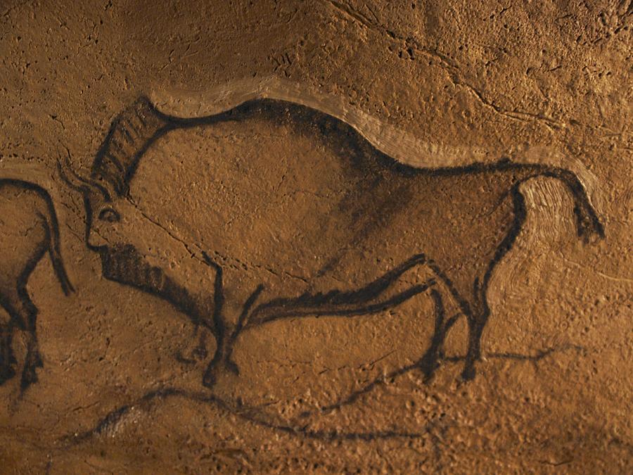 900x675 Stone Age Cave Paintings, Asturias, Spain Photograph By Javier