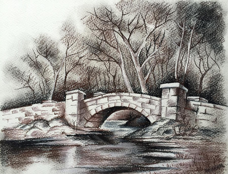 900x687 Old Stone Bridge