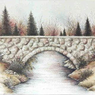320x320 Stone Bridge Inking Amp Rouging Sketch Ideas