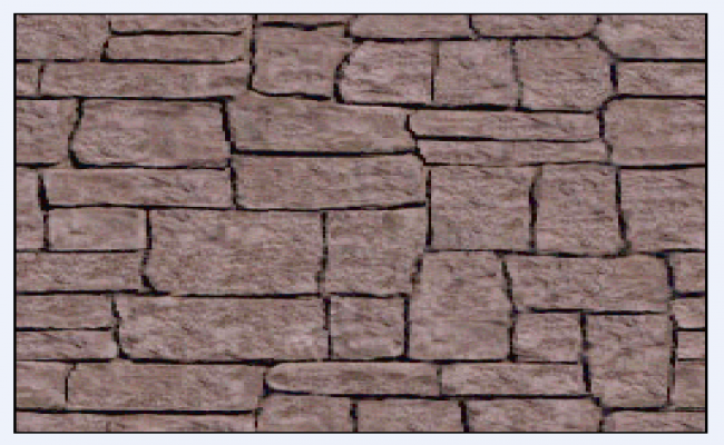 650x400 Block Stone Masonry Design Drawing