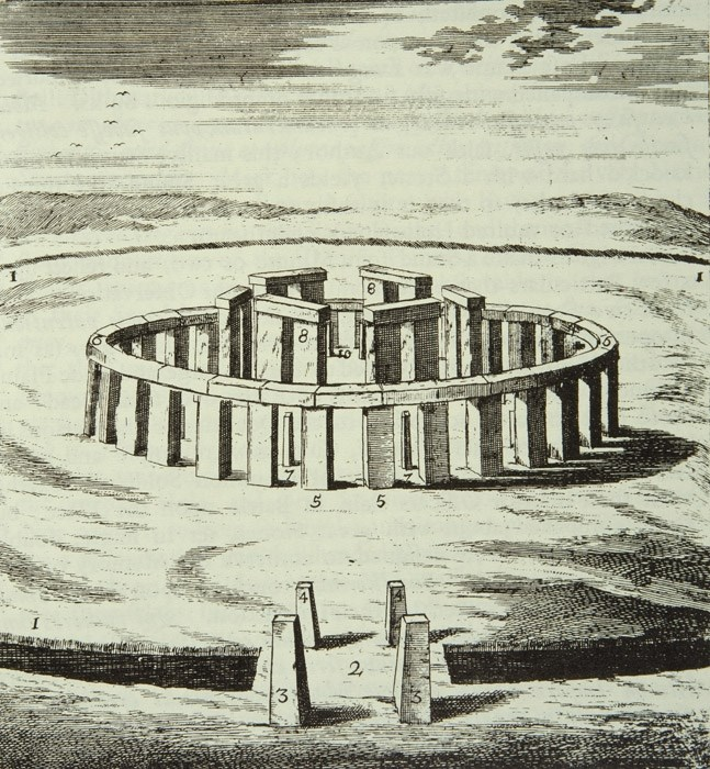 647x700 Reconstruction Drawing, Stonehenge, Wiltshire Educational Images