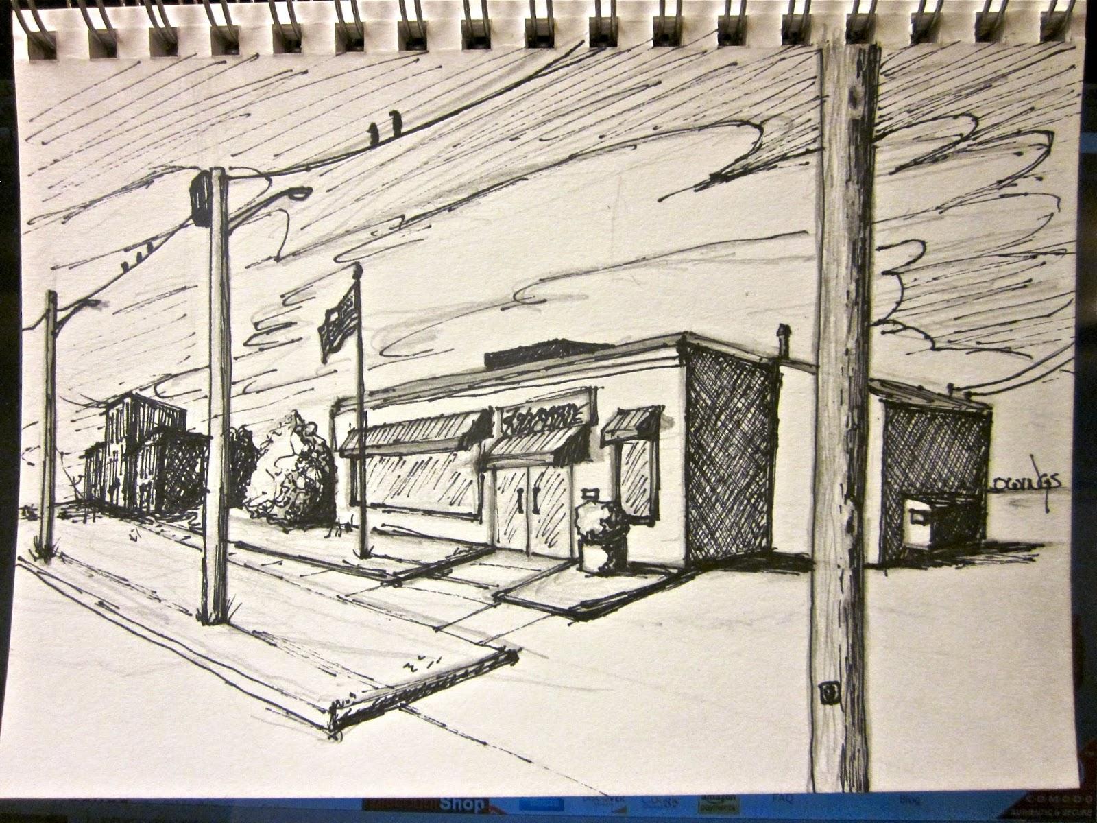 1600x1200 Owings Art Studio Storefront Drawing