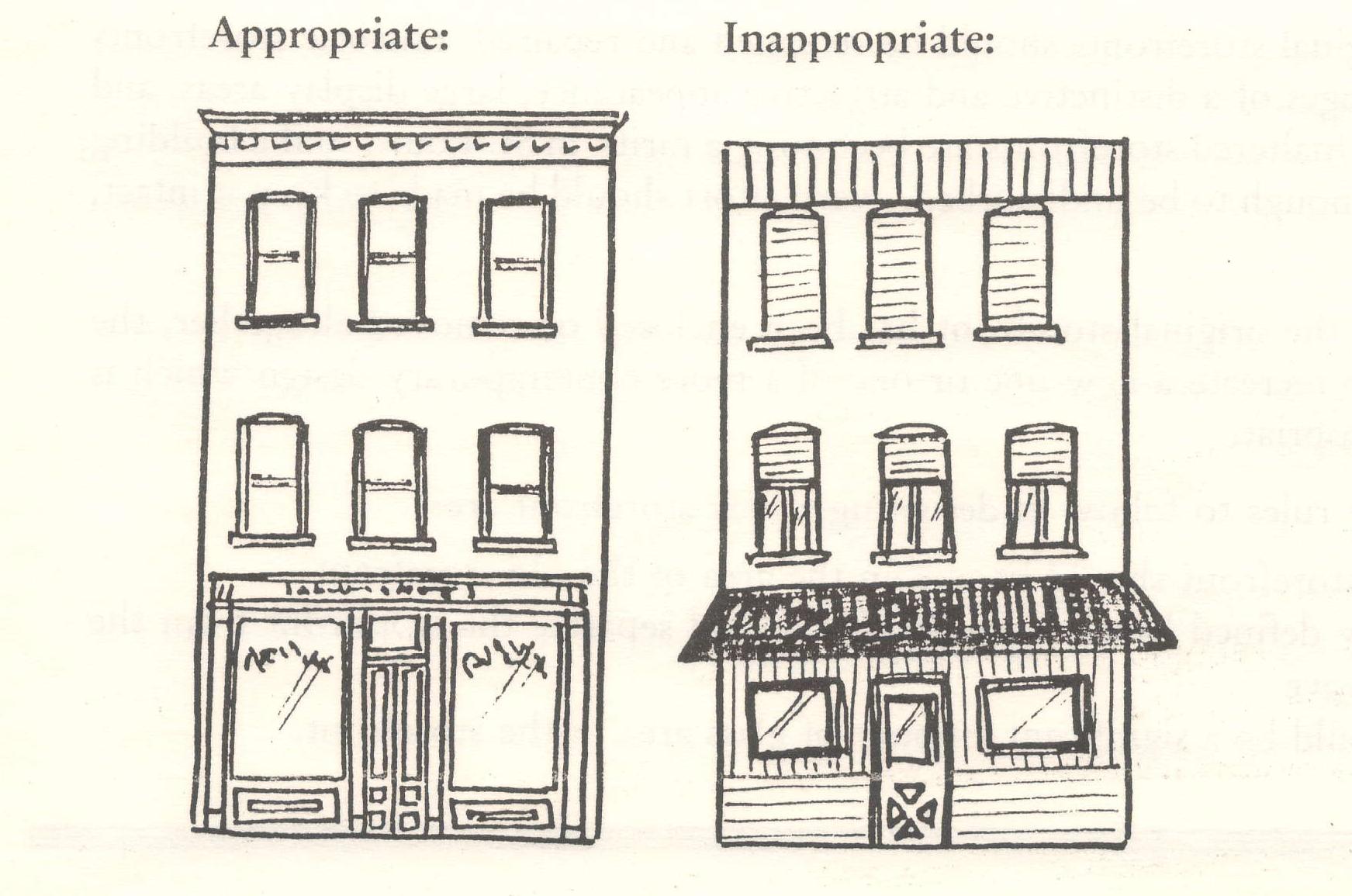 1743x1155 Funny Sketch Historic Corner Stores Storefronts