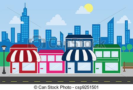 450x304 Store Fronts And Skyline Buildings Store Front Strip Mall